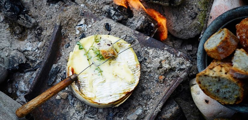 camembert-au-barbecue